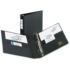 "Heavy-Duty Vinyl Ezd Ring Reference Binder, Label Holder, 1.5"" Capacity"