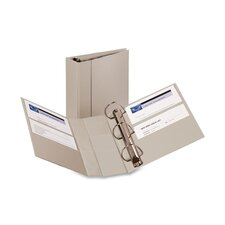 "<strong>Avery Consumer Products</strong> Heavy-Duty EZD Binder, 8.5"" x 11"", 4"" Capacity, Gray,"
