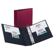 Durable EZ-Turn Ring Reference Binder, 8-1/2 x 11, 2in Capacity, Burgundy