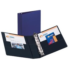 Durable EZ-Turn Ring Reference Binder, 8-1/2 x 11, 2in Capacity, Blue
