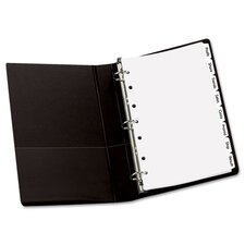 Index Maker Dividers, 8-Tab, Letter