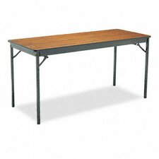 <strong>BARRICKS MANUFACTURING CO</strong> Special Size Folding Table, Rectangular, 60W X 24D X 30H