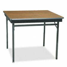<strong>BARRICKS MANUFACTURING CO</strong> Square Folding Table