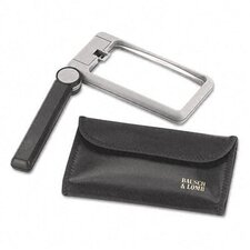 2X Folding Lighted Handheld Magnifier with Acrylic Lens