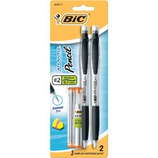 2 Count 0.7mm Atlantis Mechanical Pencil