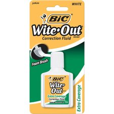 0.7 Oz Wite-Out Extra Coverage Correction Fluid (Set of 6)
