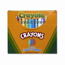 Classic Color Pack Crayons (64/Box)