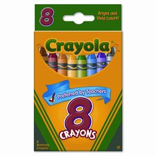 <strong>Crayola LLC</strong> Classic Color Pack Crayons (8/Box)