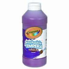 Artista Ii Washable Tempera Paint, 16 Oz