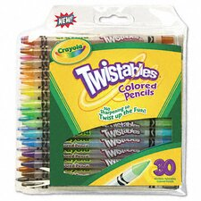 Twistables Colored Pencils (30/Pack)