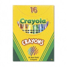 Classic Color Pack Crayons (Tuck Box, 16 Colors/Box)