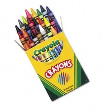 Classic Color Pack Crayons (Tuck Box, 24/Box)