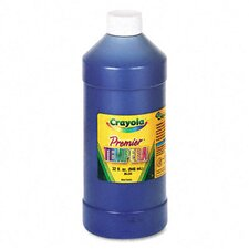 Premier Tempera Paint, Blue, 32 Ounces
