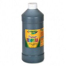 Premier Tempera Paint, Black, 32 Ounces