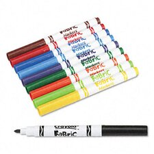 <strong>Crayola LLC</strong> Fabric Markers (10/Set)