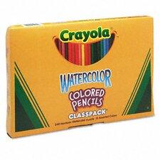 3.3 Mm Watercolor Wood Pencil Classpack (240/Box)