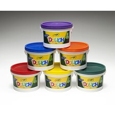 <strong>Crayola LLC</strong> Crayola Dough Tubs Red (Set of 6)