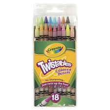 Crayola Twistables 18 Colors