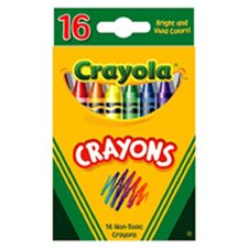 Crayola Crayons 16 Color Peggable