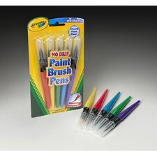 5 Count Paint Brush Pens