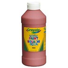 Crayola Washable Paint 16 Oz Red