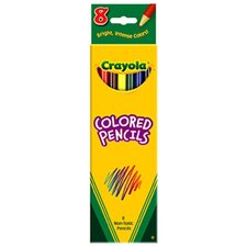 Colored Pencils-8 Ct Assorted