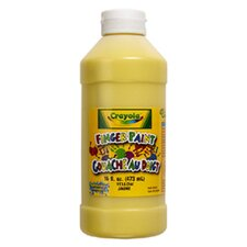 Washable Finger Paint 16oz Yellow