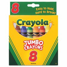<strong>Crayola LLC</strong> So Big Large Crayons (8/Box)