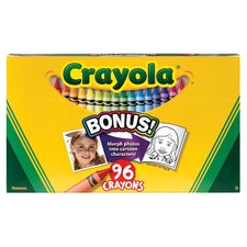 <strong>Crayola LLC</strong> Original Crayon Set (Pack of 96)