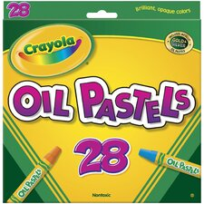 Hexagonal Oil Pastel Sets