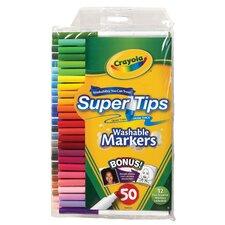 Super Tips Washable Marker Set