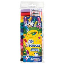 <strong>Crayola LLC</strong> Pip-Squeaks Washable Original Marker Set