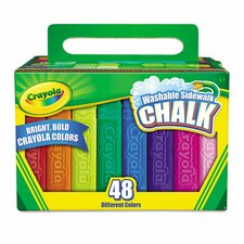 <strong>Crayola LLC</strong> Washable Sidewalk Chalk (48 Pack)