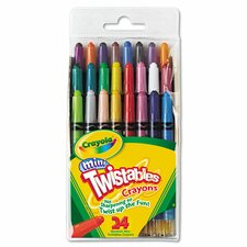 Twistables Mini Crayons (24 Pack)