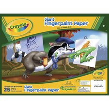 <strong>Crayola LLC</strong> Giant Fingerprint Paper (25 Count)