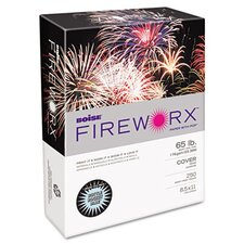 Fireworx Colored Cover Stock, 65 Lbs, 8-1/2 X 11, 250 Sheets