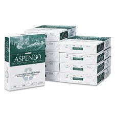 <strong>Boise®</strong> Aspen 30% Recycled Office Paper,92 Bright, 20 Lb, 8-1/2 X 11, 5000/Carton