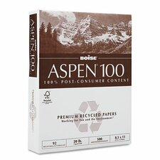 Aspen 92 Bright 100% Recycled Office Paper (5000/Carton)