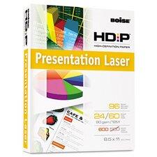 Hd:P Presentation Laser Paper, 96 Brightness, 24 Lb, 8-1/2X11, 500/Ream