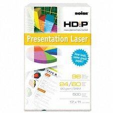 Hd:P Presentation Laser Paper, 96 Brightness, 24 Lb, 11 X 17, 500/Ream