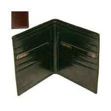 <strong>Bond Street, LTD.</strong> Hand Stained Italian Leather Executive Hipster Wallet