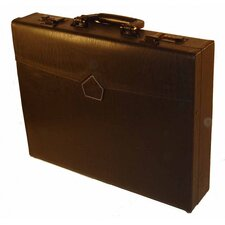 Professional Leather Laptop Attache Case