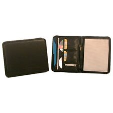 <strong>Bond Street, LTD.</strong> Zip Koskin Letter Size Writing Case with Pad