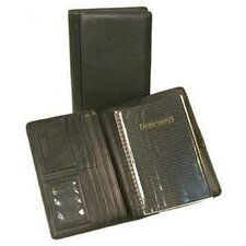 <strong>Bond Street, LTD.</strong> Japanese Drum Dyed Leather Desk Agenda Organizer