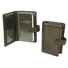 'Hunter' Leather Tab-Close Pocket Multi Feature Wallet