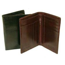 Hand Stained Italian Leather Superior Duo Fold Wallet
