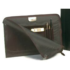Premium Leather Underarm Portfolio Case