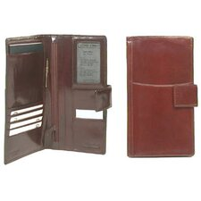 Passport and Airline Case with Tab Closure - Travel Wallet