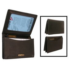 Chamoix Leather Business Card Case