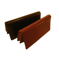 Calf Leather Deluxe Secretary Gusset Wallet